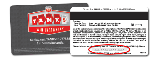 Tank5 Mobile Promotion