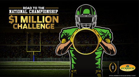 Eckrich $1 Million Football Toss Challenge