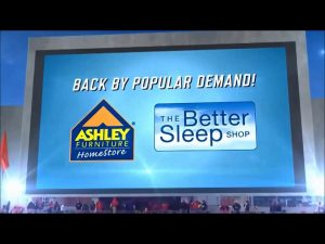 Ashley Furniture and the College Football Championship Conditional Rebate