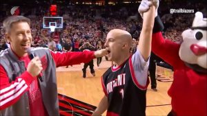 Fan Drains a Half Court Shot to Win a New Car